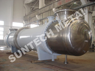 ประเทศจีน Shell Tube Condenser for PTA , Chemical Process Equipment of Titanium Gr.2 Cooler ผู้ผลิต