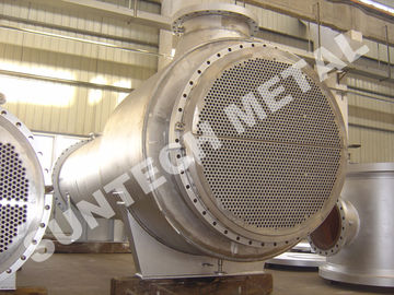 ประเทศจีน Zirconium 60702 Floating Type Heat Exchanger , Floating Head Cooler ผู้ผลิต