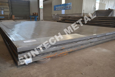 ประเทศจีน Explosion Clad N02200 Ni200 Pure Nickel Cladded Plate for Condensers โรงงาน