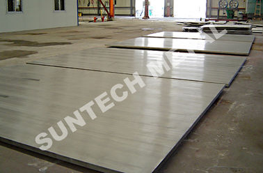 ประเทศจีน N10276 C276 Nickel Alloy Clad Plate 28sqm Max. Size for Reboile โรงงาน