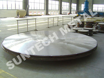 ประเทศจีน N08825 Incoloy 825 /  A105 Nickel Alloy Cladding Plate  for Condenser โรงงาน