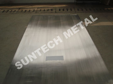 ประเทศจีน Nickel Alloy Clad Plate for Heaters Explosion Clad N04400 Monel400 โรงงาน