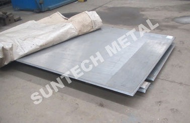 ประเทศจีน R60702 / SB265 Gr.1 / SA516 Gr.60 Zirconium Clad Plate for Acetic Acid โรงงาน