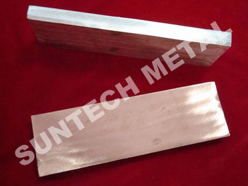 ประเทศจีน Cu 1100 / A1050 Copper Clad Plate Applied for Transitional Joints โรงงาน