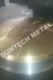 ประเทศจีน 120mm thickness Copper Clad Plate / Tubesheet  for Heat Exchangers โรงงาน