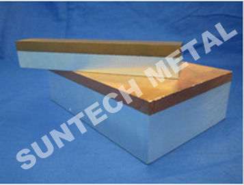 ประเทศจีน C1100 / A1060 Thick Aluminum and Copper Cladded Plates for Transitional Joint โรงงาน