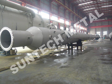 ประเทศจีน Tray Tower 316L Stainless Steel Vessel for PTA Chemicals Industry โรงงาน