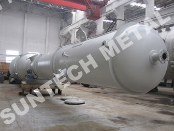 ประเทศจีน 20 Tons Weight Stainless Steel Column 316L SS  Tray Type Column โรงงาน